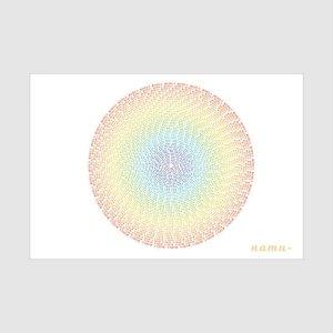 画像1: ありがとう曼荼羅カード(レッド)